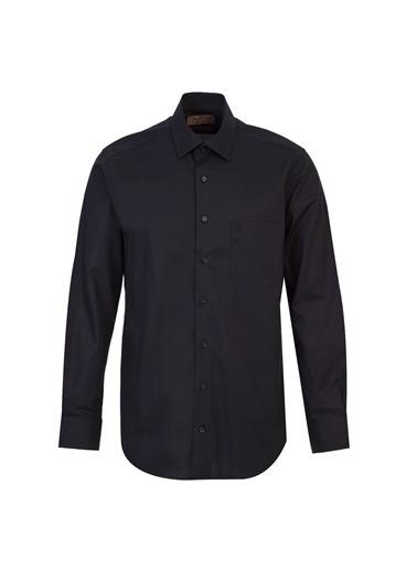 Kiğılı Klasik Gömlek Siyah